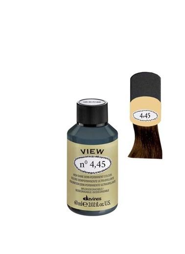 Davines Davines View Yarı Kalıcı Saç Boyası 4,45 Kahve Bakır Akaju 60 Ml Renksiz